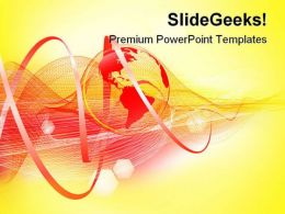 World Background Abstract PowerPoint Templates And PowerPoint Backgrounds 0311