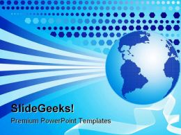 World Background Globe PowerPoint Templates And PowerPoint Backgrounds 0511
