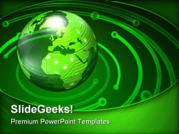 World Circuits And Electronics Industrial PowerPoint Templates And PowerPoint Backgrounds 0311