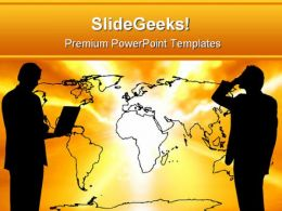 World Communication Business PowerPoint Templates And PowerPoint Backgrounds 0511