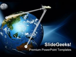 World Communication Globe PowerPoint Templates And PowerPoint Backgrounds 0511