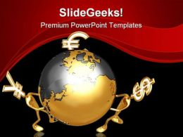 World Currency Globe PowerPoint Templates And PowerPoint Backgrounds 0511