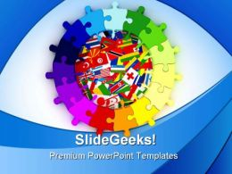 World Diversity Global PowerPoint Templates And PowerPoint Backgrounds 0311
