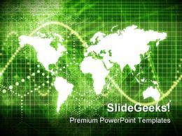 World Economy Background PowerPoint Templates And PowerPoint Backgrounds 0711