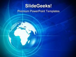 World Globe Abstract PowerPoint Templates And PowerPoint Backgrounds 0311