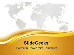 World Map Abstract PowerPoint Templates And PowerPoint Backgrounds 0511