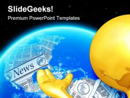 World News Global PowerPoint Templates And PowerPoint Backgrounds 0711