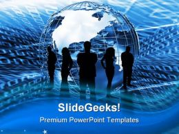 World Trading Business PowerPoint Templates And PowerPoint Backgrounds 0711