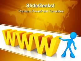 Www01 Internet PowerPoint Templates And PowerPoint Backgrounds 0311