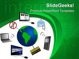 Www Globe Communication PowerPoint Templates And PowerPoint Backgrounds 0611