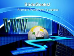 Www Speed And Ecommerce Business PowerPoint Templates And PowerPoint Backgrounds 0611