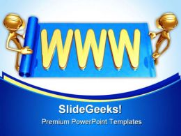 Www Web Builders Internet PowerPoint Templates And PowerPoint Backgrounds 0311