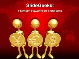 Yes Currency Business PowerPoint Templates And PowerPoint Backgrounds 0611