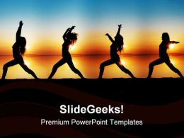 Yoga Health PowerPoint Templates And PowerPoint Backgrounds 0711