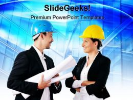 Young Architecture PowerPoint Templates And PowerPoint Backgrounds 0511
