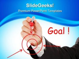 Your Goal Success PowerPoint Templates And PowerPoint Backgrounds 0211