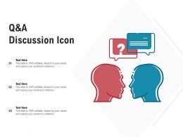 Q And A Discussion Icon