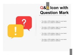 Q And A Icon With Question Mark