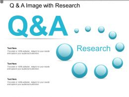 Q And A Image With Research