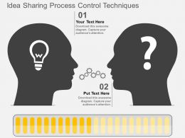 Qd Idea Sharing Process Control Techniques Flat Powerpoint Design