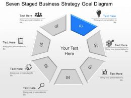 qm_seven_staged_business_strategy_goal_diagram_powerpoint_template_Slide01
