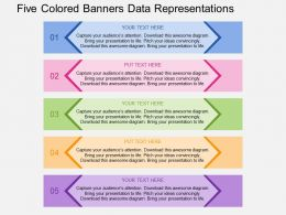qp_five_colored_banners_data_representations_flat_powerpoint_design_Slide01