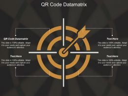 Qr Code Datamatrix Ppt Powerpoint Presentation Gallery Background Image Cpb