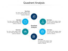 Quadrant Analysis Ppt Powerpoint Presentation Model Graphics Tutorials Cpb