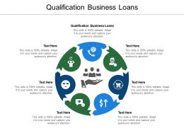 Qualification Business Loans Ppt Powerpoint Presentation Gallery Display Cpb