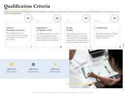 Qualification Criteria Deal Evaluation Ppt Powerpoint Presentation Show Elements