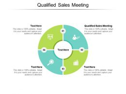 Qualified Sales Meeting Ppt Powerpoint Presentation Slides Graphics Template Cpb