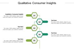 Qualitative Consumer Insights Ppt Powerpoint Presentation Example Topics Cpb