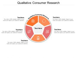 Qualitative Consumer Research Ppt Powerpoint Presentation Brochure Cpb