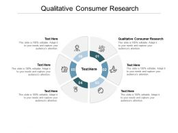 Qualitative Consumer Research Ppt Powerpoint Presentation Ideas Display Cpb