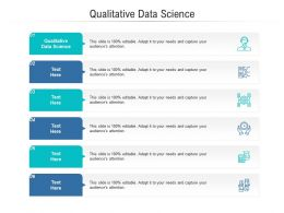 Qualitative Data Science Ppt Powerpoint Presentation Infographic Template Elements Cpb