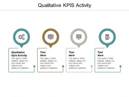 Qualitative KPIS Activity Ppt Powerpoint Presentation Professional Visual Aids Cpb