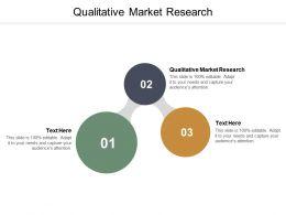 Qualitative Market Research Ppt Powerpoint Presentation Ideas Maker Cpb