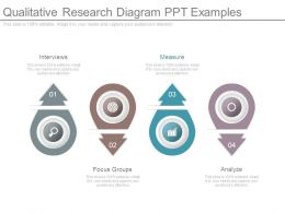 Qualitative Research Diagram Ppt Examples