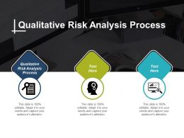 Qualitative Risk Analysis Process Ppt Powerpoint Presentation Infographic Template Show Cpb