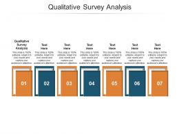 Qualitative Survey Analysis Ppt Powerpoint Presentation Infographics Graphics Pictures Cpb