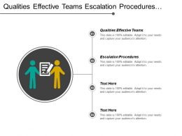 Qualities Effective Teams Escalation Procedures Business Process Requirements Cpb