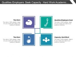 Qualities Employers Seek Capacity Hard Work Academic Practices