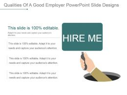 Qualities Of A Good Employer Powerpoint Slide Designs