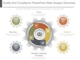 Quality And Compliance Powerpoint Slide Designs Download