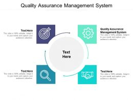 Quality Assurance Management System Ppt Powerpoint Objects Cpb