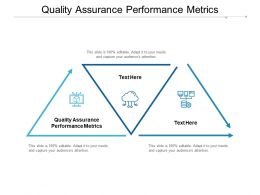 Quality Assurance Performance Metrics Ppt Powerpoint Presentation Styles Files Cpb