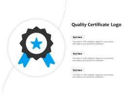 Quality Certificate Logo