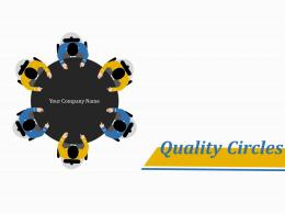 Quality Circles Team Creates Quality Circle And Collects Information