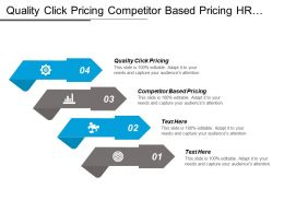 Quality Click Pricing Competitor Based Pricing Hr Analytics Cpb