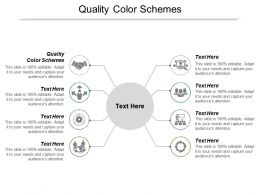 Quality Color Schemes Ppt Powerpoint Presentation Ideas Elements Cpb